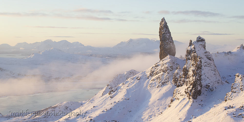 Old Man of Storr in winter