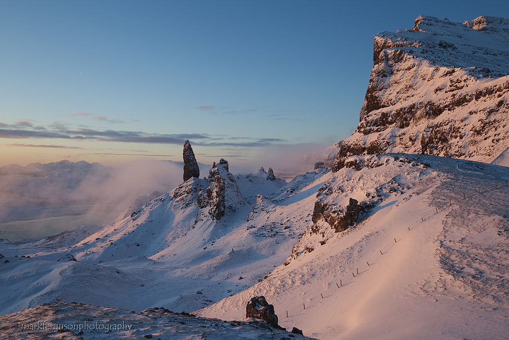 The Storr in winter