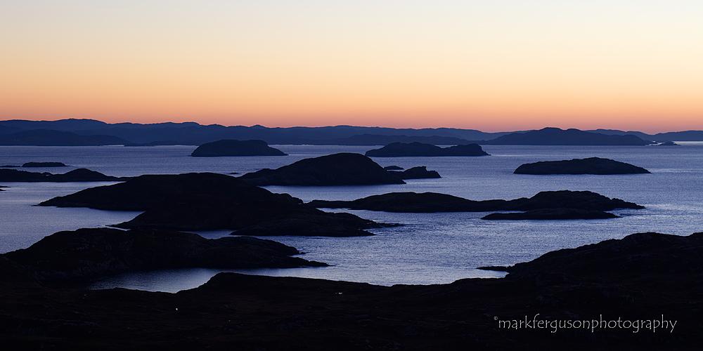 Badcall Bay islands