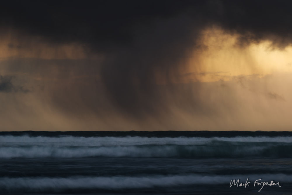Dying storm