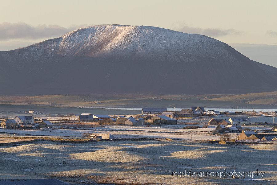 Ward Hill in winter