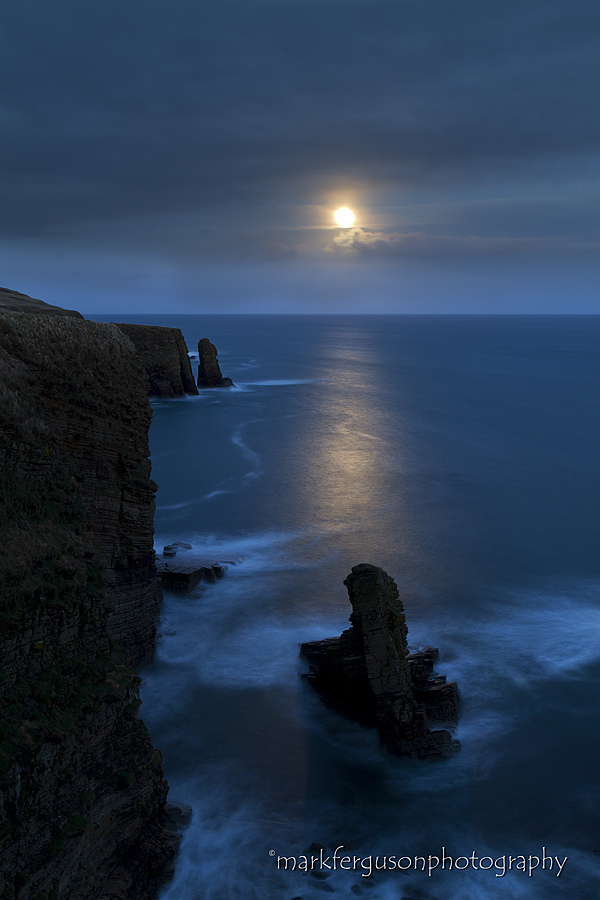 Wind Wick moonrise