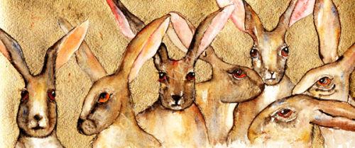 7 Golden Hares