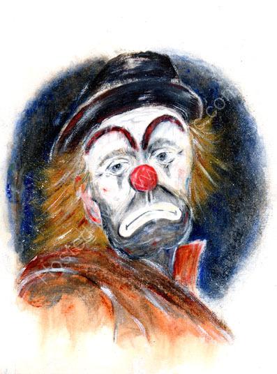 Clown-Macabre series, No. 2