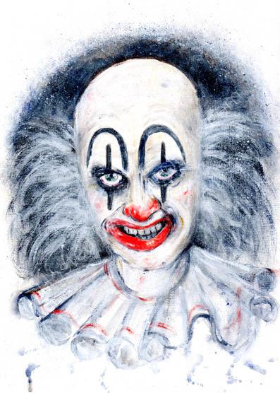 Clown-Macabre series, No. 4