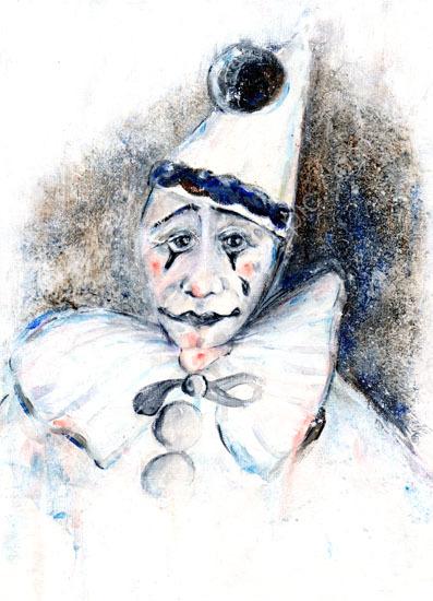 Clown-Macabre series, No. 5