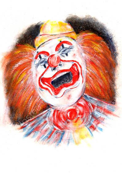 Clown-Macabre series,  No. 1