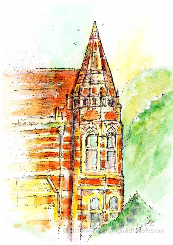 Friar Park main tower