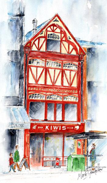 Kiwis, St. Mary st., Cardiff