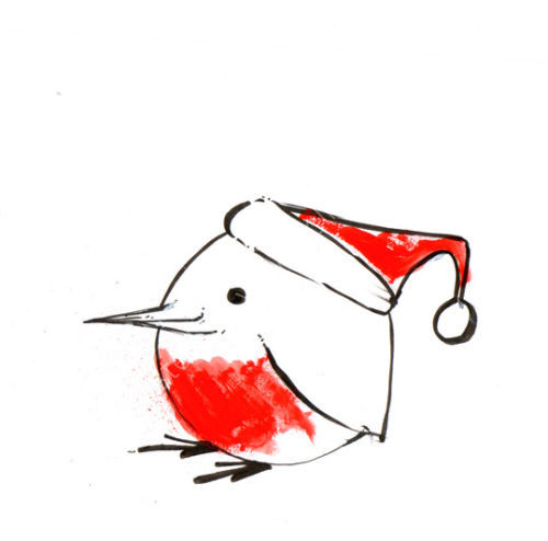 Robin 2. Now available as a Gift Tag.