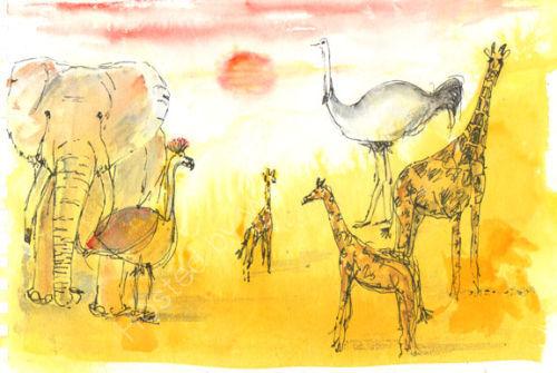 On Safari 1