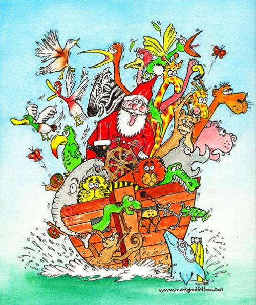 Santa takes the Wheel