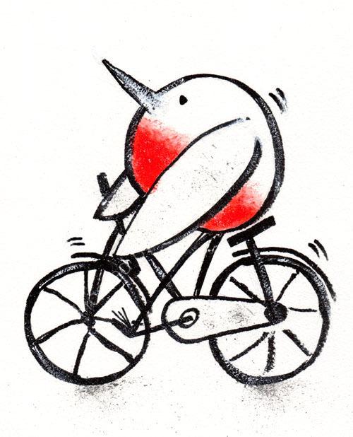 Sporty Robin 1 - Biker