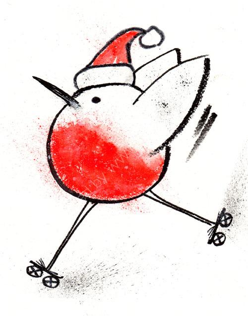 Sporty Robin 5 - Roller Skater