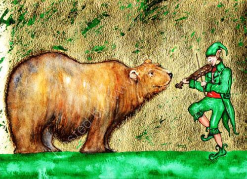 The Bear and the Pixie Fiddler