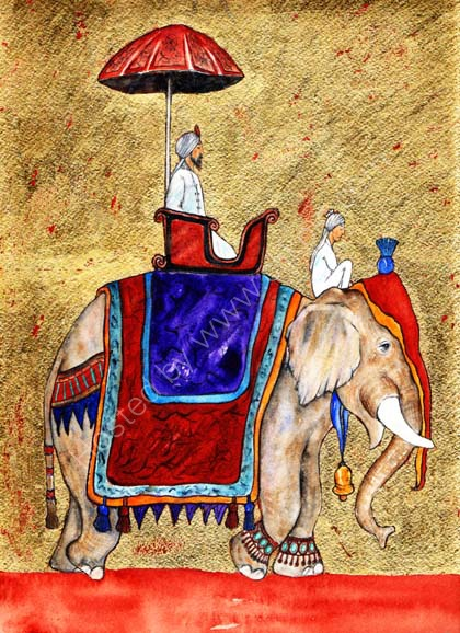 The Elephant, the Mahout and the Maharajah