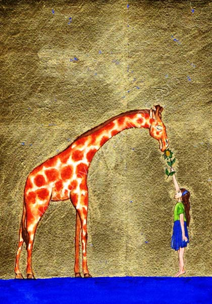 The Giraffe and the Girl