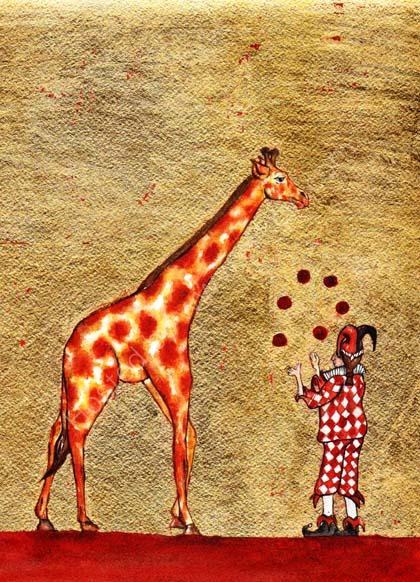 The Giraffe and the Juggler
