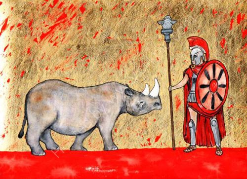 The Rhinoceros and the Trojan