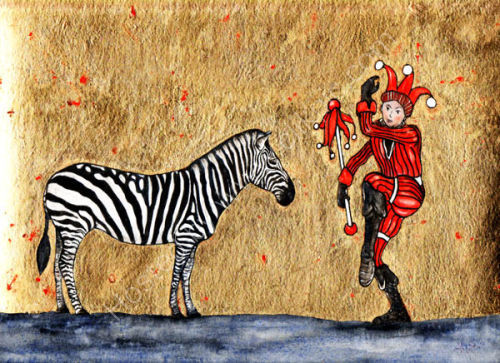 The Zebra and the Court Jester