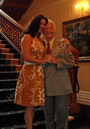 Catherine Zeta Jones and Wyn Calvin