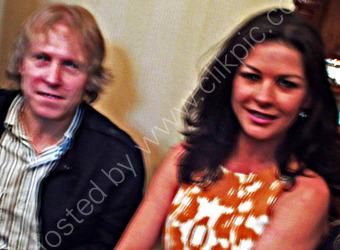 Catherine Zeta Jones with Mark
