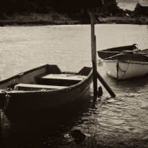 Boats On The Thames Estuary