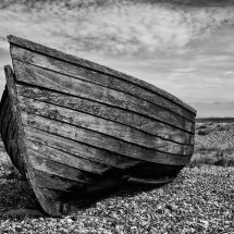 Broken Old Timber Boat