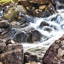 Welsh Mountain Stream HDR
