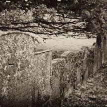 Gravestone Wall