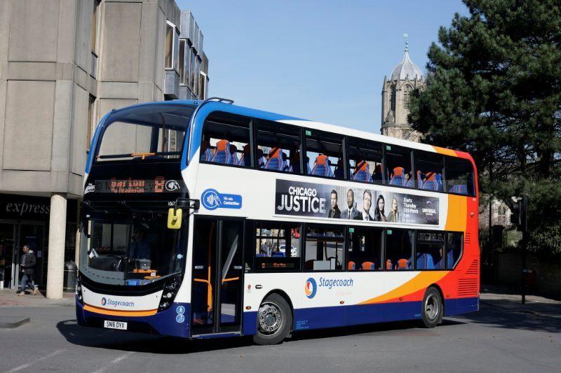1711480M Stagecoach Oxford 10675 St Aldgates Oxford