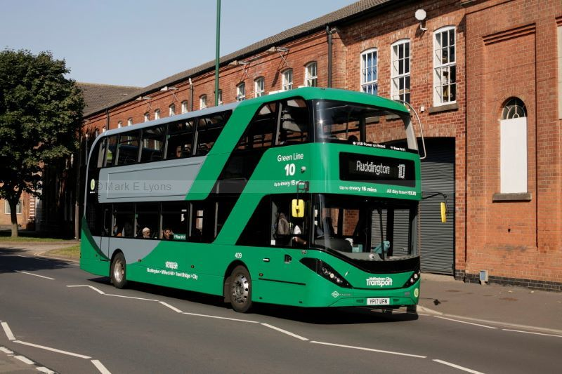 1715133M Nottingham City Transport 409 Meadows Way Nottingham