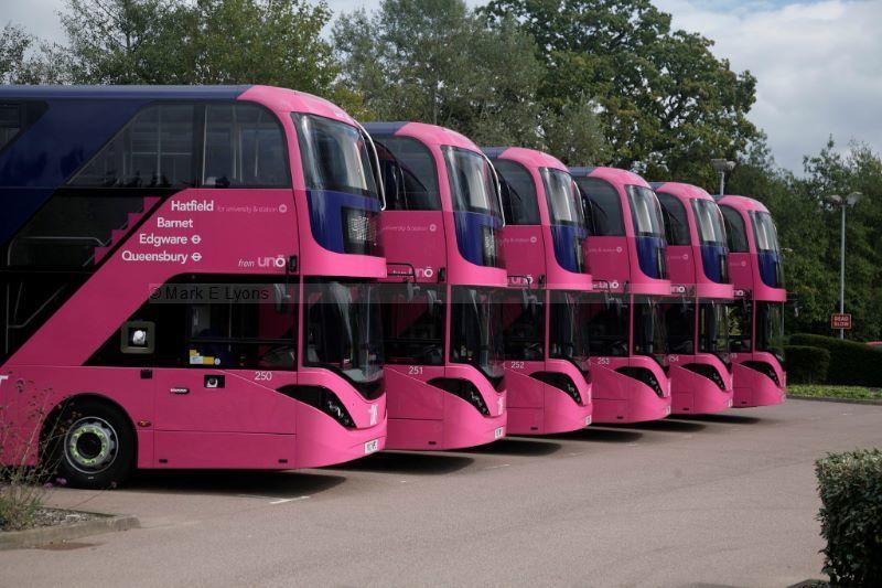 1715408M Uno E400 line up Fielder Centre Hatfield
