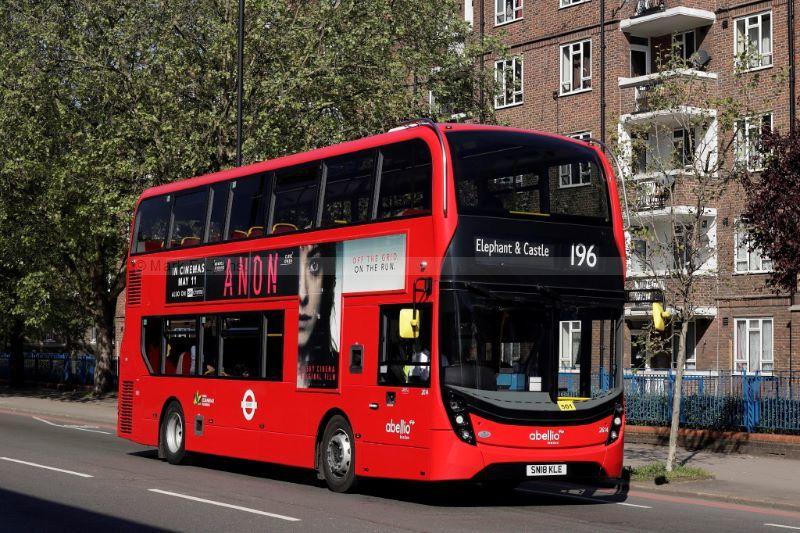 1821043M Abellio London 2614 Kennington Lane