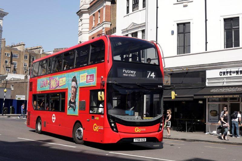 1821135M London General EH96 Thurloe Place