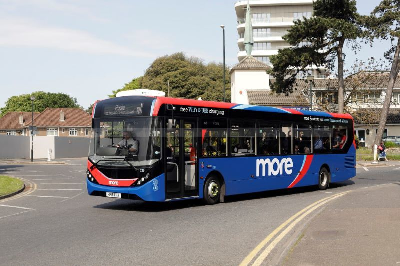 1821409M Go South Coast 238 St Peters Roundabout Bournemouth
