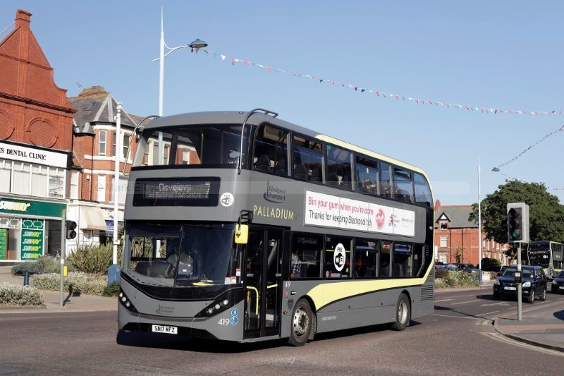 1822472M Blackpool Transport 419 Clifton Drive North St Annes 2