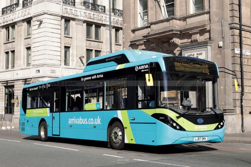 1822635M Arriva North West 7007 Derby Square Liverpool 1