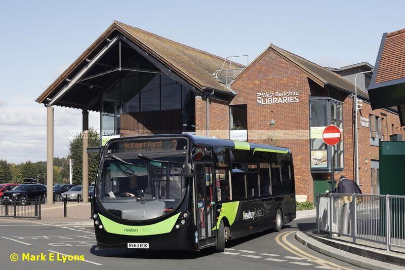 Newbury & District 165 Newbury Bus Station