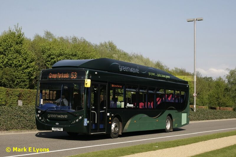 Reading Buses 407 Longwater Avenue