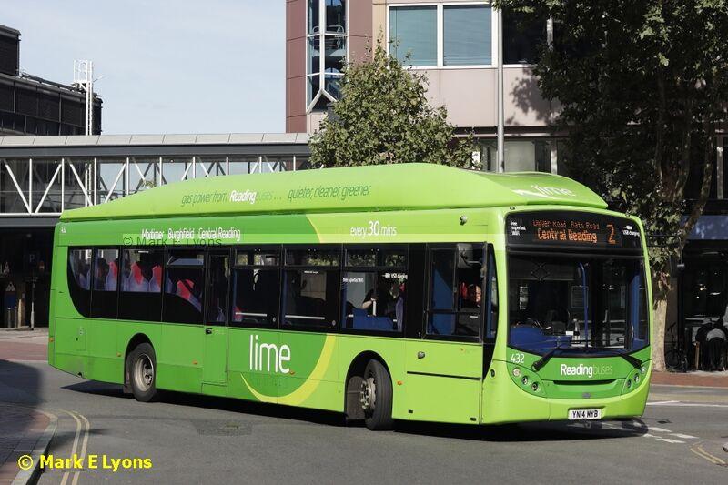 Reading Buses 432 Blagrave St Reading