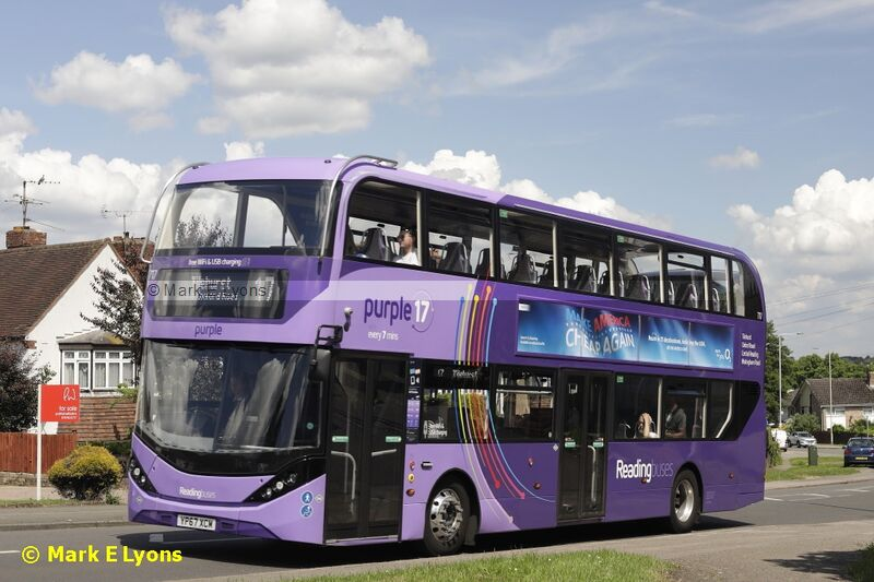 Reading Buses 717 Norcot Road Reading