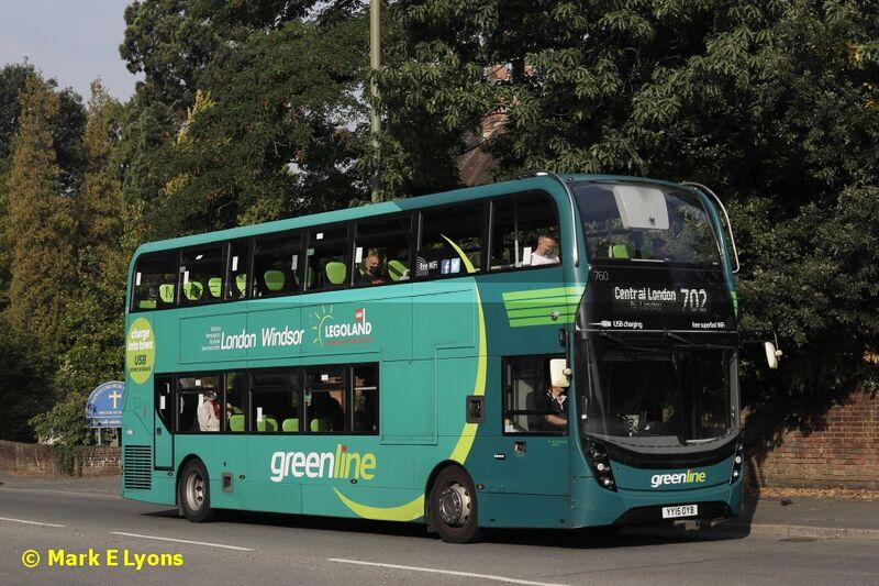 Reading Buses 760 London Road Ascot