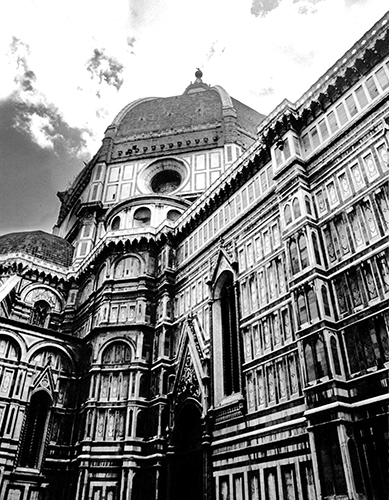 The Duomo in Florence.