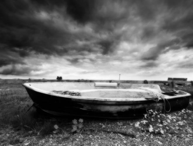 Boat at Beesands Devon UK
