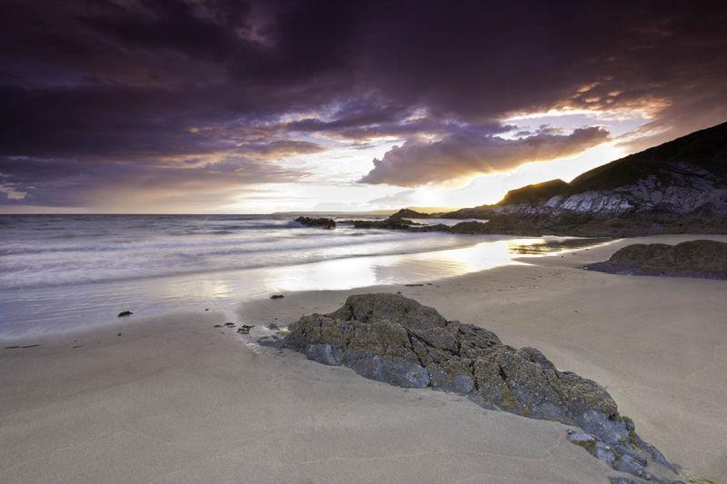 Sunset Sharrow Beach