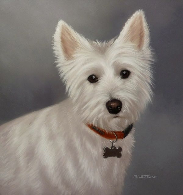 Original Pastel Painting of Piper.