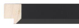 Frame 4 : Black Solid Wood Frame - 23mm wide