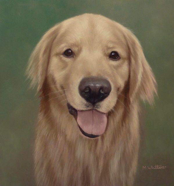 Original Pastel Painting of Teddy Bear.