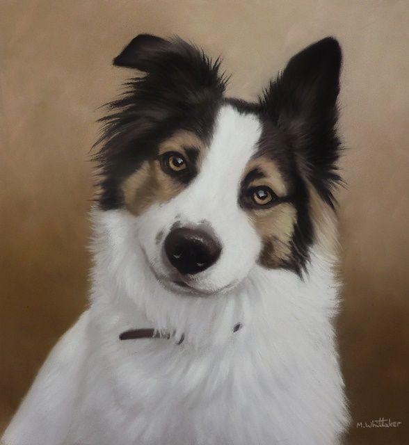 Original Pastel Painting of Finn.
